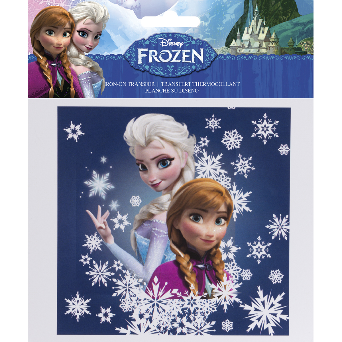 Disney Frozen Iron-On Transfer -Sisters