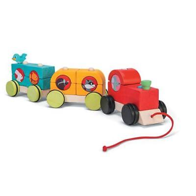 In-13762483 Woodland Express Stacking Train Price For 1 Piece by MindWare