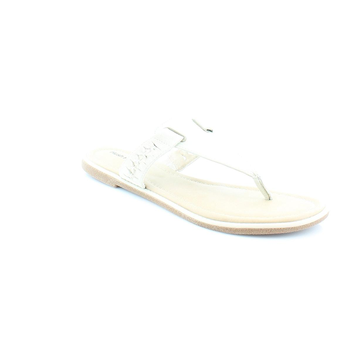 Hush Puppies Erin Capo IIV Womens Off White Lea S Sandals by Hush Puppies