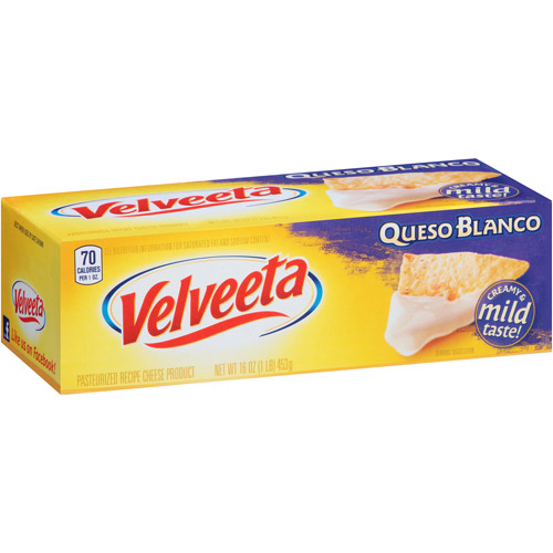 Kraft Velveeta Queso Blanco Cheese, 16 oz