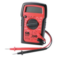 Gardner Bender GDT-3190 Digital Multimeter, 4 Function, 14 Range, Tests AC/DC Voltage, Resistance, and Battery, Manual Ranging, Auto-Off