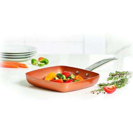 Copper Chef 9 5 Quot Square Fry Pan Walmart Com