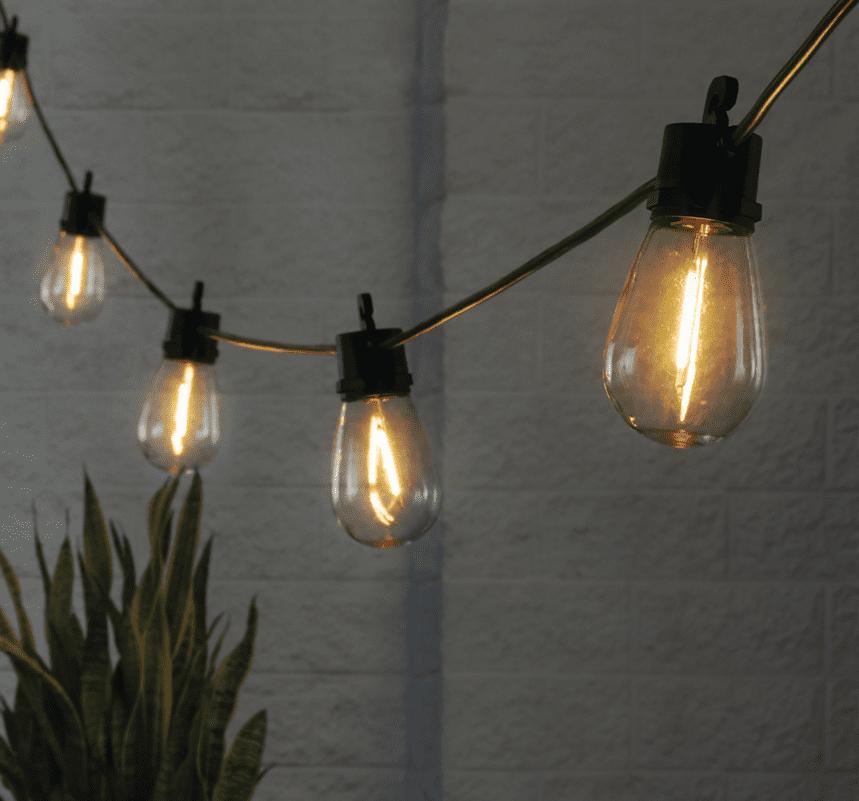 Better Home Garden Solar String Lights For Decks Patios Backyards Walmart Com Walmart Com
