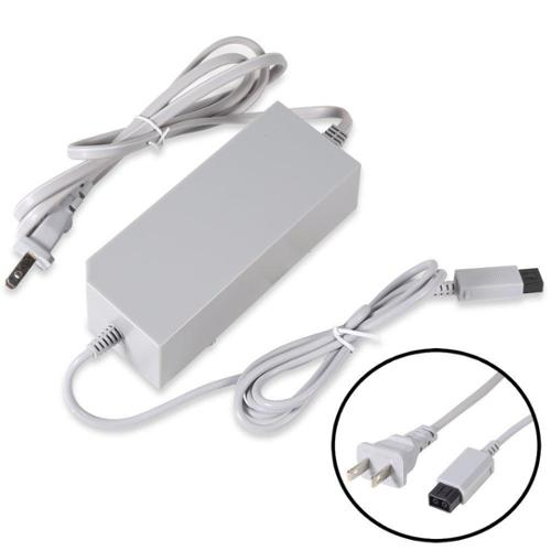Premium Durable Replacement Power Supply Cord AC Charger Adapter for Nintendo Wii
