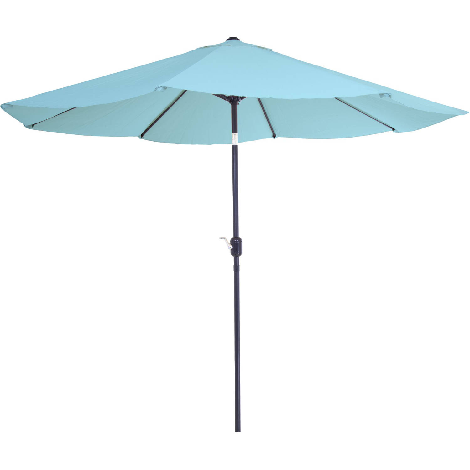 Pure Garden 10u0027 Aluminum Patio Umbrella With Auto Tilt   Walmart.com