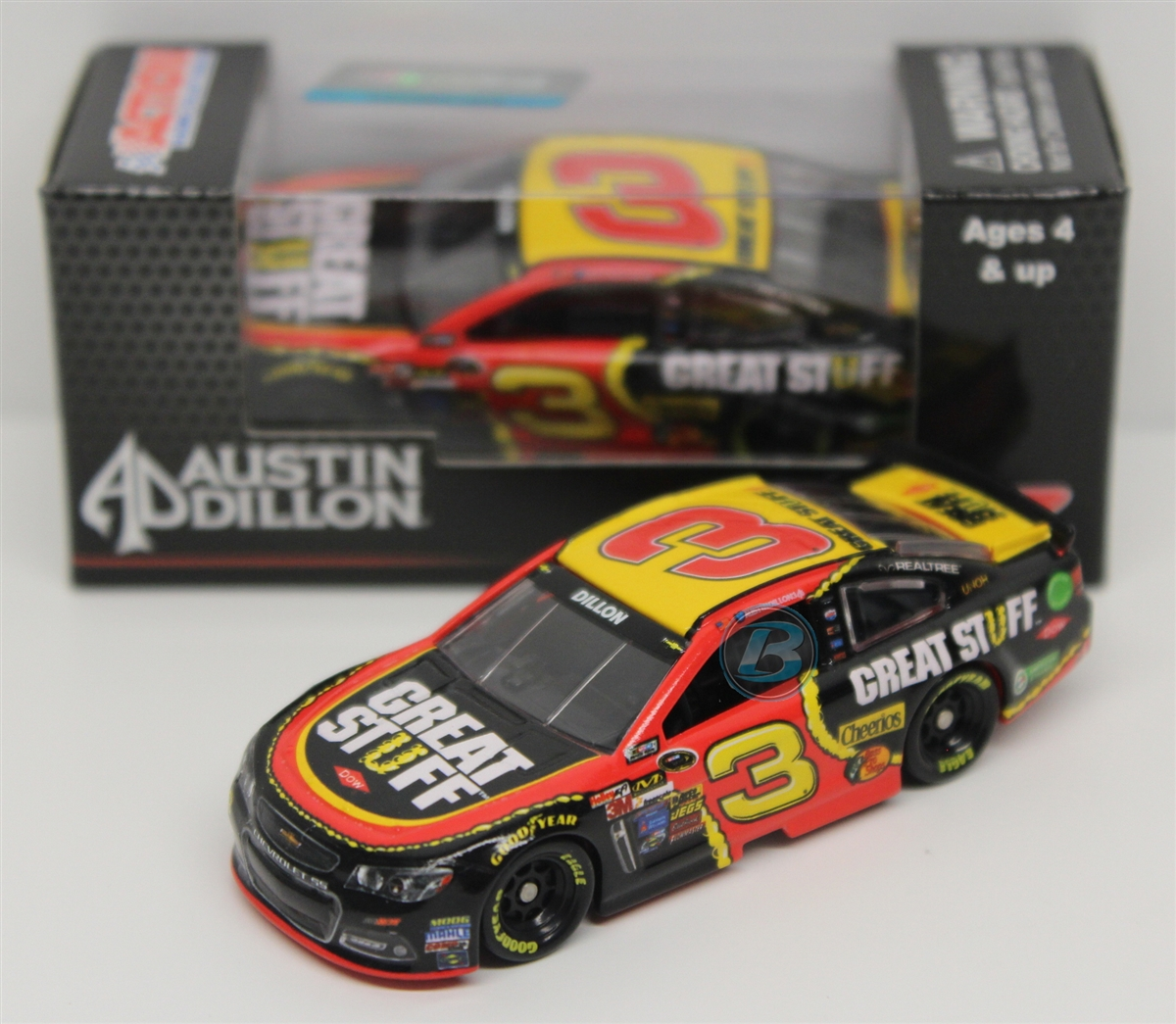 Austin Dillon 2014 Dow Great Stuff 1:64 Nascar Diecast by Lionel Racing