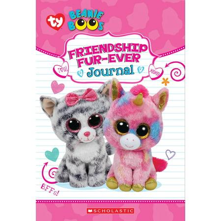 Friendship Fur-Ever (Beanie Boos Guided Journal with Fuzzy Cover)](Halloween Beanie Boos 2017)