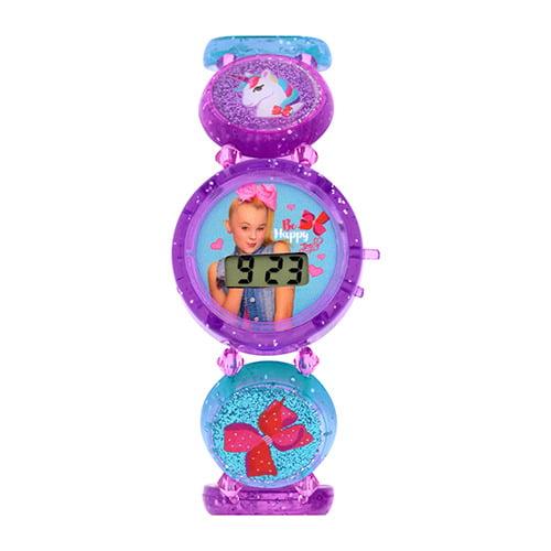 JoJo Kids Stretch Elastic Bracelet LCD Watch