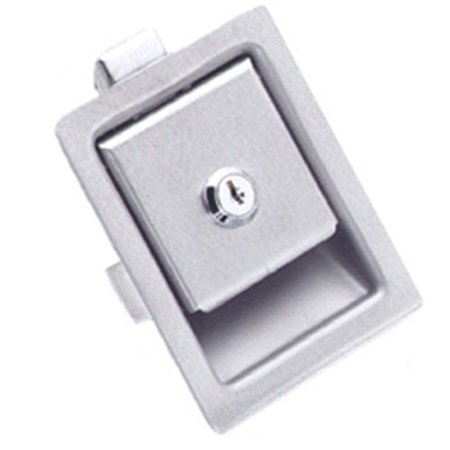 Southco 64-10-302-50 Brushed Stainless Steel Paddle Push to Close Latch, Pull to - Stainless Paddle Latch