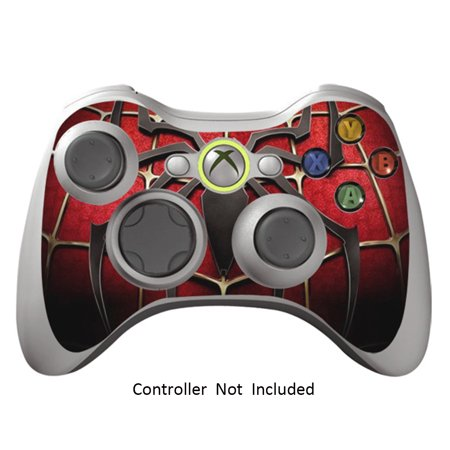 Skin stickers for xbox 360 controller vinyl leather texture sticker for x360 slim wired wireless