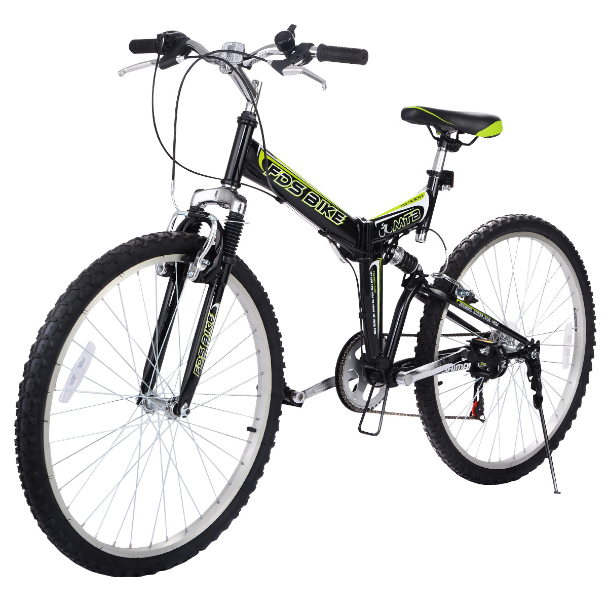 "Generic 26"" Folding 6 Speed Mountain Bike Bicycle Shimano..."