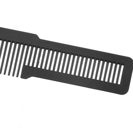 HC-TOP Antistatic Professional Hair Comb Hard Carbon Flat Head Cutting Combs Tool - image 5 de 6