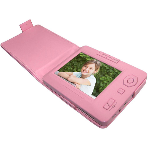 "Sungale TD350A-PK 3.5"" Digital Photo Frame, Pink"