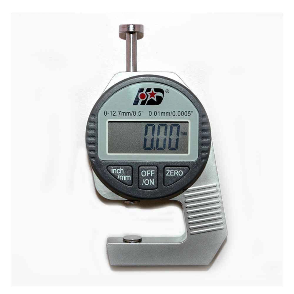 """DTG-1 Digital Thickness Gauge measures upto 0.51"""" 12.7mm with a 0.0005"""" 0.01mm resolution, Maximum... by"""