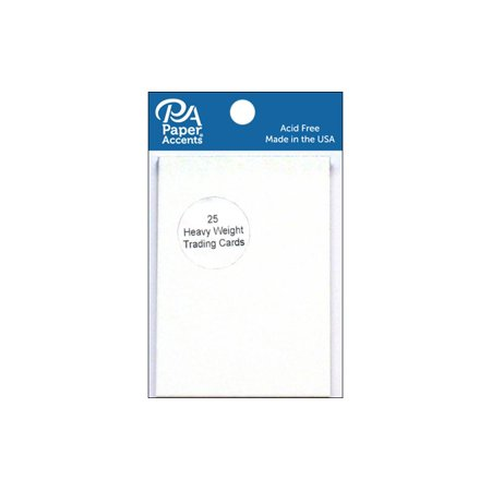 Trading Cards 2.5x3.5 100lb White - Paper Trading App