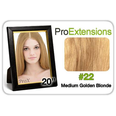 Pro Lace 20    22 Medium Golden Blonde