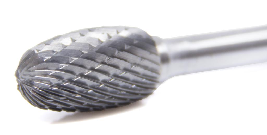 SE-1 Oval//Egg Shape Premium Double Cut Tungsten Carbide Burr