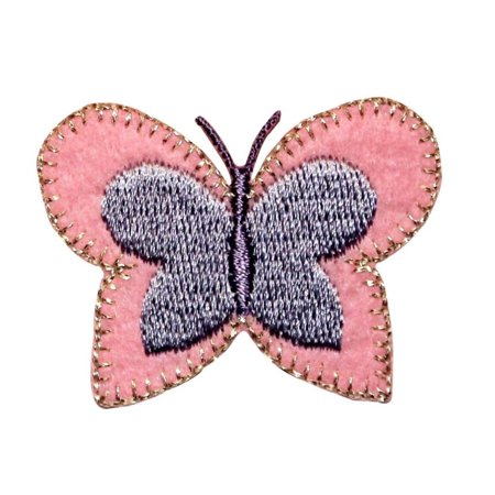 ID 2284 Butterfly Craft Patch Garden Symbol Insect Embroidered Iron On Applique - Insect Crafts