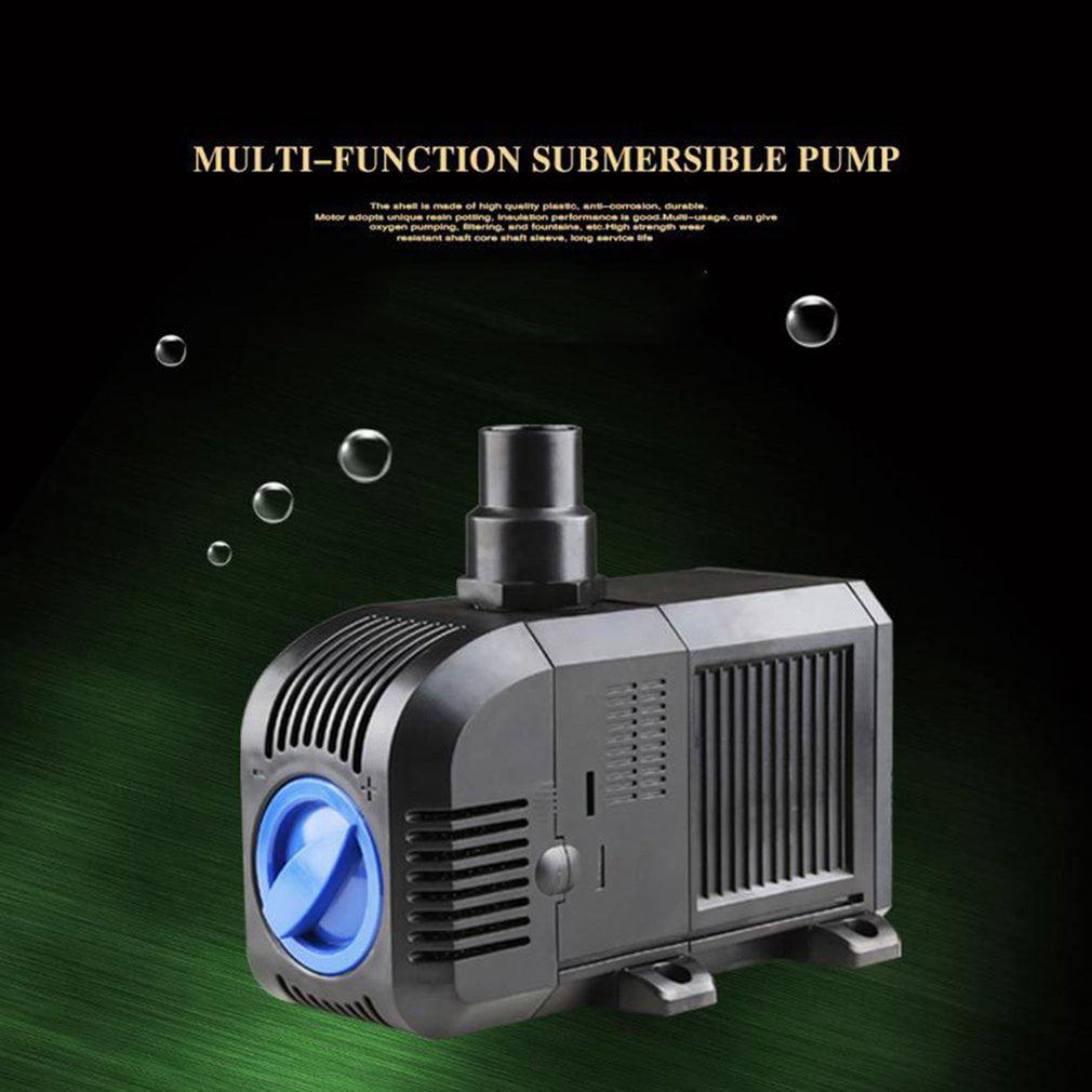 Black Mini Submersible Water Pump Aquarium Fish Tank Pump