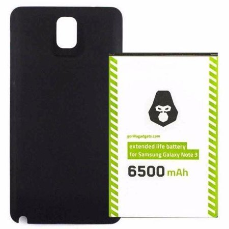 Samsung Galaxy Note 3 Extended Life Replacement Battery (Samsung Galaxy S Iii Mini Battery Life)