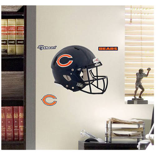 NFL Chicago Bears Fathead Helmet Wall Graphic