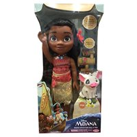 Beyond Shop - New Disney 15 INCH MOANA ADVENTURE DOLL & PUA - by Disney - An Official Licensed Product