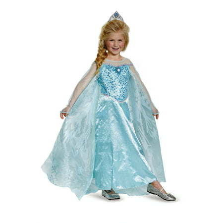 Child Frozen Elsa Prestige Costume by Disguise 83189 - Cool Disguises