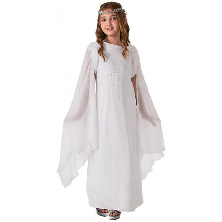 Deluxe Galadriel Child Costume - Small - Galadriel Lord Of The Rings Halloween Costume