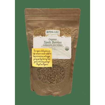 Royal Lee Organics by Standard Process Organic Spelt Berries 2 lb (Spelt Berries)
