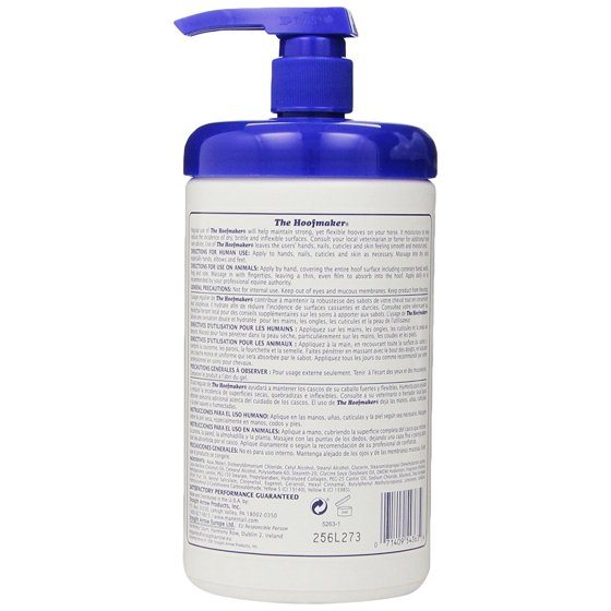 Mane\'n Tail Hoofmaker Hand & Nail Moisturizer Therapy 32 oz ...