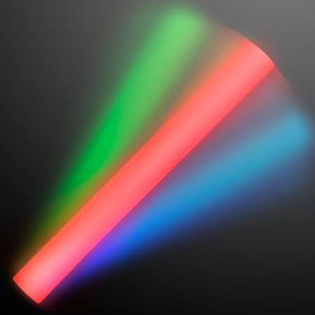 Glow Foam Sticks (FlashingBlinkyLights Multicolor Motion Activated LED Foam Glow Stick)