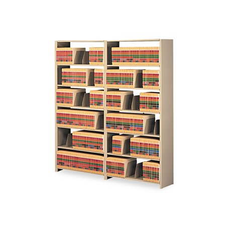 Tennsco Regal Shelving Starter (Tennsco Snap-Together Steel Seven-Shelf Closed Starter Set, 48w x 12d x 88h,)