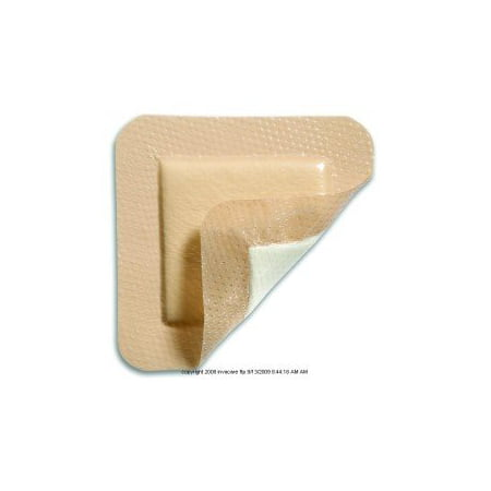 Mepilex Border Self Adherent Soft Silicone Foam Dressing 3'' x 3'', 2 Boxes of 5