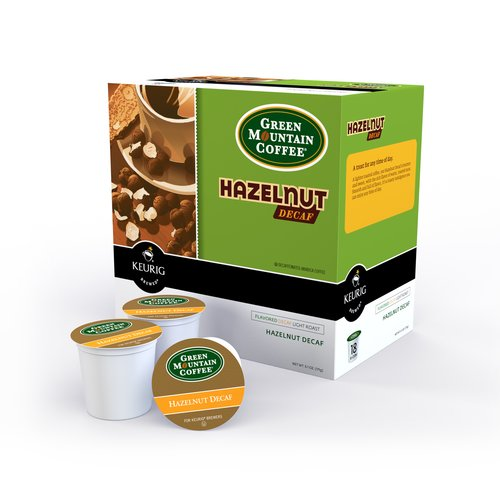 Green Mountain Coffee K-Cups Decaf Hazelnut Coffee, 18 count