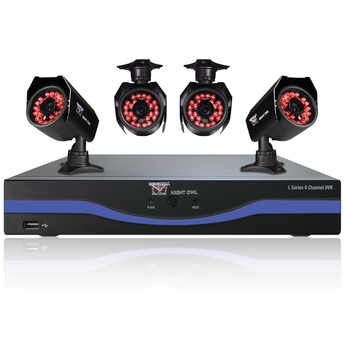 Night Owl B-l85-4624 8-channel Dvr With