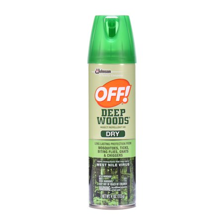 Off  Deep Woods Insect Repellent Viii Dry 4 Ounces