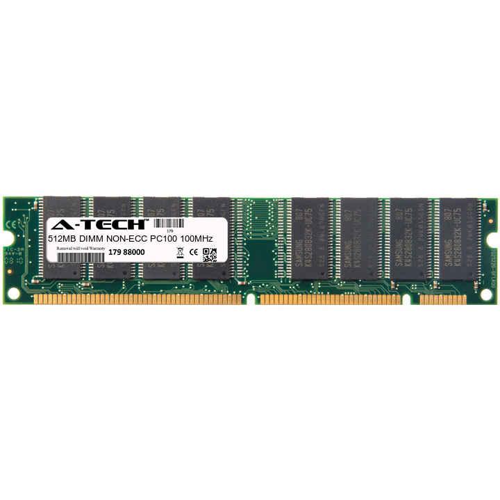 512MB Module PC100 100MHz NON-ECC SD DIMM Desktop 168-pin Memory Ram