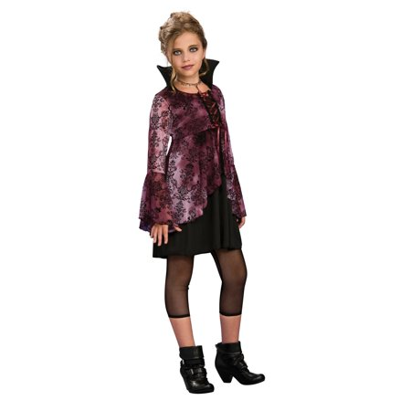 Vampira Vampiress Girl Dress Costume - Disfraces Para Halloween Vampira