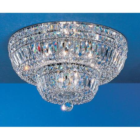 Empress Vase - Classic Lighting Empress Light Semi-Flush Mount