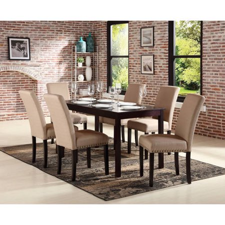 Nice 7 Pc Dining Set, Espresso ()