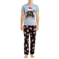 Star Wars Mens Merry Sithmas Christmas Pajamas, 2-Pc. Set