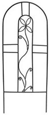 Border Concepts 73002 Plant Trellis, Black Minitex, 12 x 30-In. by BORDER CONCEPTS