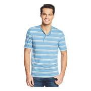 Club Room Mens Striped Henley Shirt