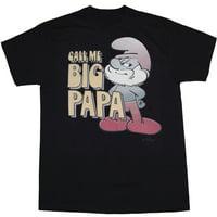 Smurfs Call Me Big Papa T-Shirt