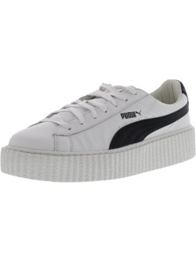 22adc44513948f Product Image Puma Women s Creeper White   Black Ankle-High Leather Fashion  Sneaker ...