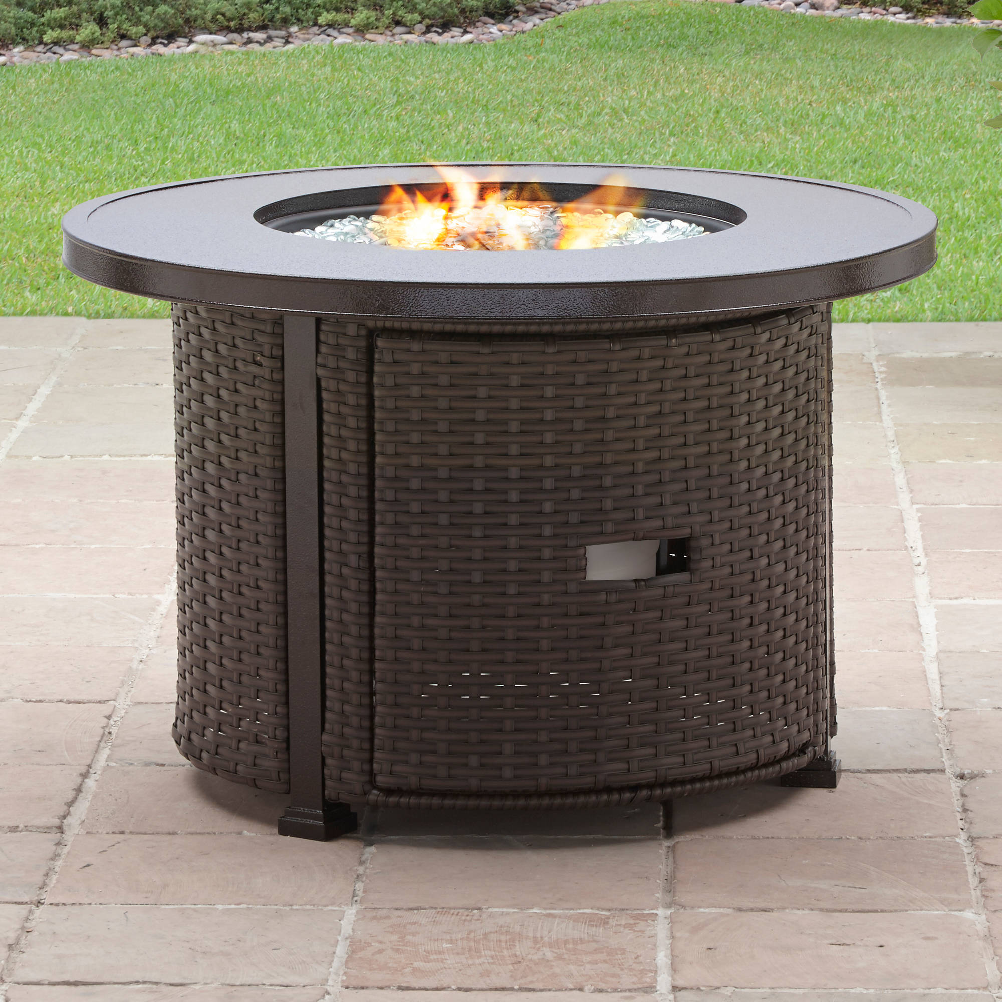 "Better Homes and Gardens Colebrook 37"" Gas Fire Pit"