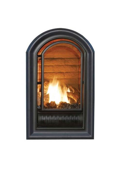Hearth Sense A Series Vent Free Fireplace Insert In Black Finish (Natural  Gas  Vent Free Fireplace Insert