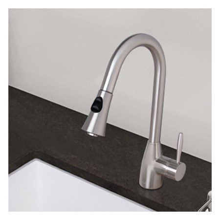 Vigo Aylesbury Single Handle Pull Down Spray Kitchen Faucet