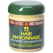 Organic Root Stimulator  Hair Mayonnaise Treatment,  16 oz (Pack of 2)