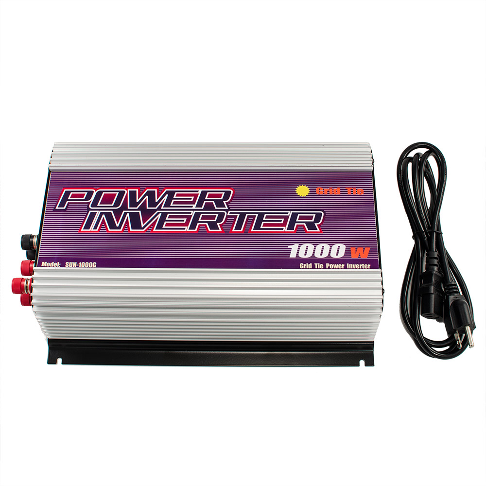 iMeshbean 600W 1000W 2500W Grid Tie MPPT Power Inverter Converter for Solar Panel and Wind Turbine Generator System by